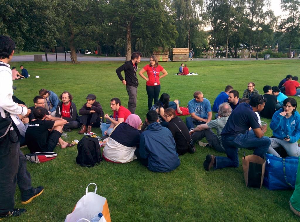 GUADEC picnic @ Gothenberg