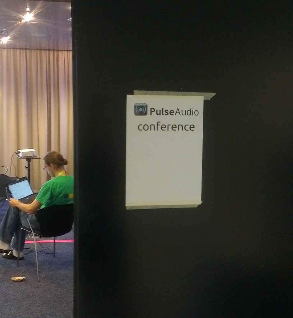 The room where the first PulseAudio conference took place